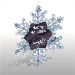 Snowflake Acrylic Ornament
