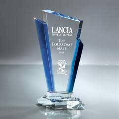 Optic Crystal Palace Award - Large