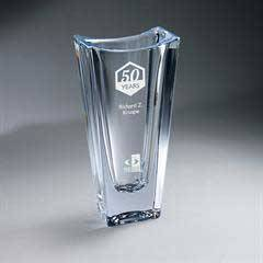 Crystal Vase - Large