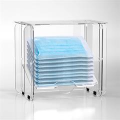 Disposable Mask Dispenser Box Blank Assembled
