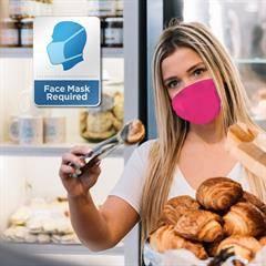 Face Mask Reminder Sign