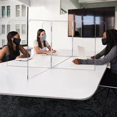 Large Interlock 7 Panel Tabletop