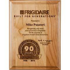Genuine Alder Wood Plaque