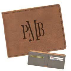 Leatherette Slim-Line Wallet